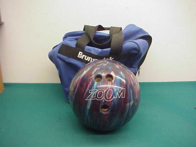 Zoom preowned Glow USA sparkle USBCstar00h3044  bowling ball bag