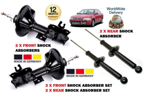 2x REAR SHOCK ABSORBER SHOCKER SET FOR VOLVO S40 1995-1999 NEW 2x FRONT