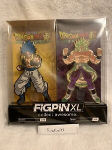 SDCC 2019 Funimation Exclusive Figpin XL Gogeta /& Broly Set IN HAND