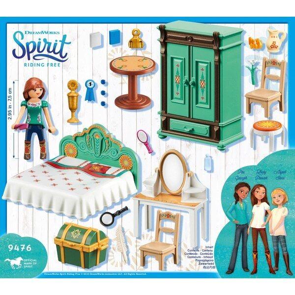 Playmobil 9476 DreamWorks Spirit Lucky's Bedroom
