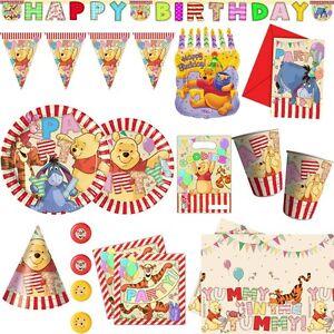 Party winnie puuh alphabet kindergeburtstag motto for Winnie pooh kuchen deko