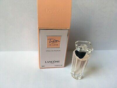 Lancome Tresor In Love Miniatura EDP Splash vial 5 Ml Nuevo Y Sellado | eBay
