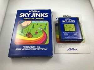 Sky Jinks (Atari 2600) - Complete in Box - Tested Working
