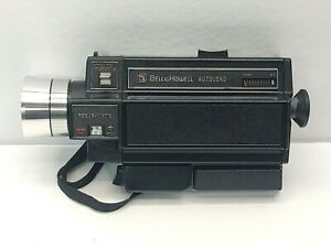 Vintage-Bell-amp-Howell-Autoload-ZOOM-Movie-Camera-493-and-Case
