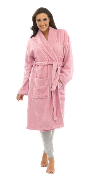 27b71ed078 Womens Pure 100 Cotton Luxury Terry Towelling Bath Robes Dressing ...