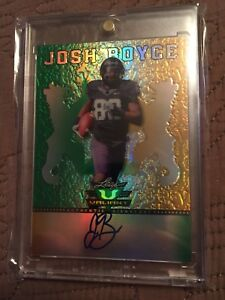 2013-Leaf-Valiant-Draft-Football-BA-JB2-Josh-Boyce-AUTO-TCU-Horned-Frogs