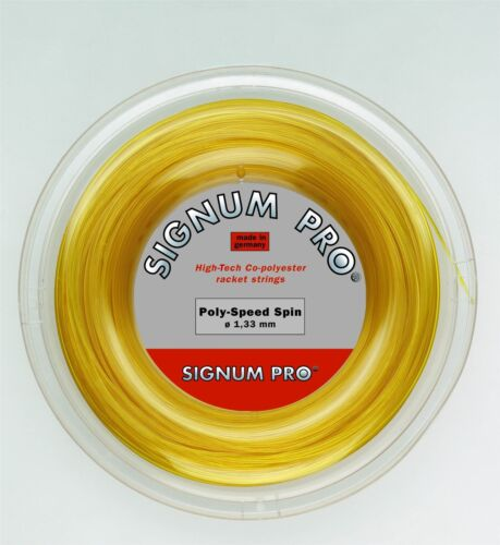 Signum Pro Poly Speed Spin Tennis String