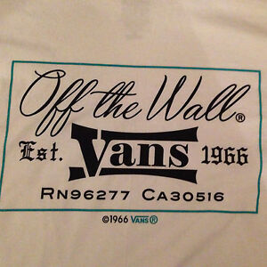 VANS Original White Double Sided off
