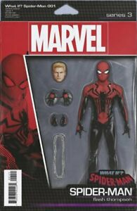 Marvel-Comics-What-If-Spider-man-Spiderman-1-B-2018-NM-FREE-COMBINED-SHIPPING