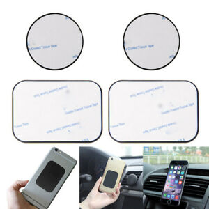 4-PCS-Replacement-Metal-Adhesive-Plate-Magnet-Sticker-For-Phone-GPS-Car-Holder