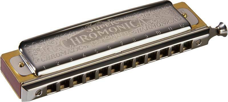 Hohner Super Chromonica 48 Chromatic Harmonica Key of B.
