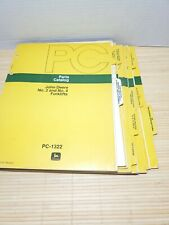 John Deere Parts Catalogs Lot Of 10 Forklifts Hitches Planter Cultivator 1290 7