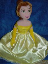 Disney Beauty & The Beast Princess Belle Yellow Ball Gown Plush Rag Cloth Doll