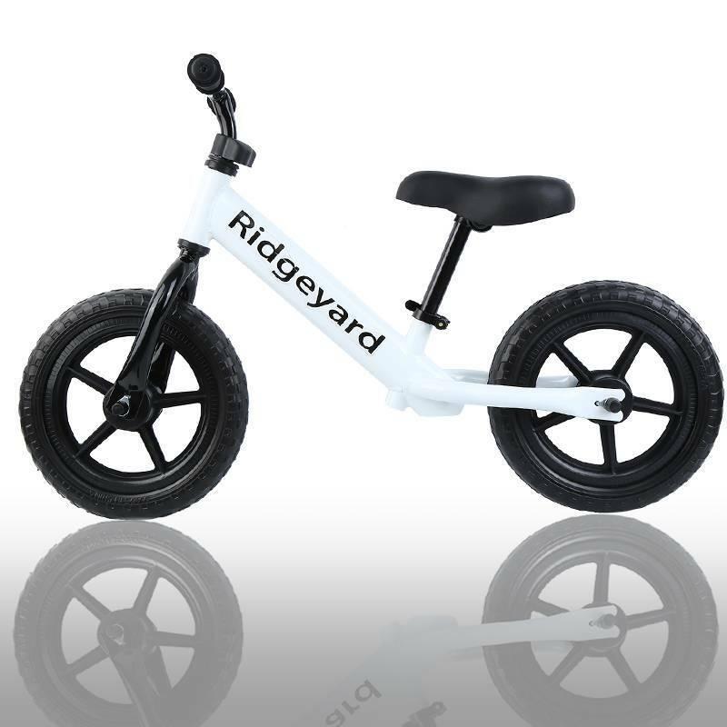 12/'/' Kids Balance Training Bike No-Pedal Learn Ride Pre Push Bicycle Adjustable