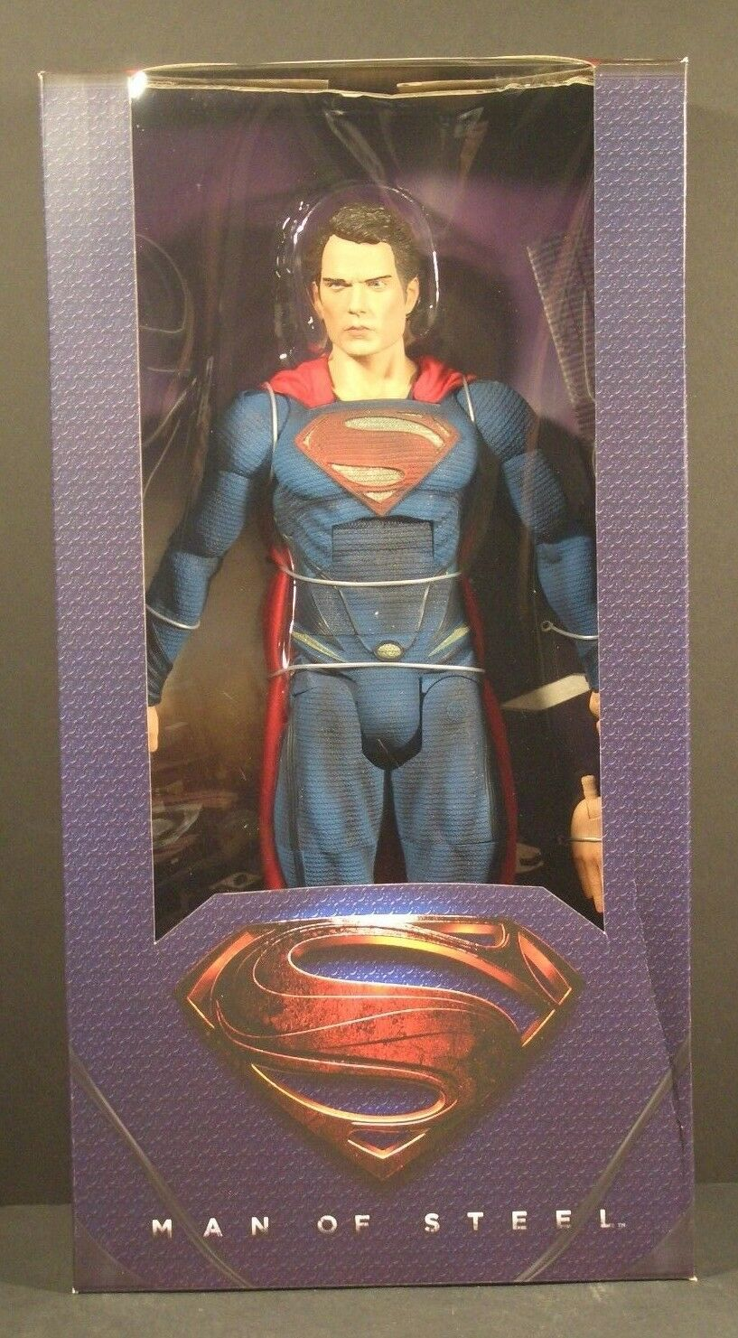 NECA Superman Man of Steel 1 4 Scale 18 inch Henry Cavill Reel Toys DC WB