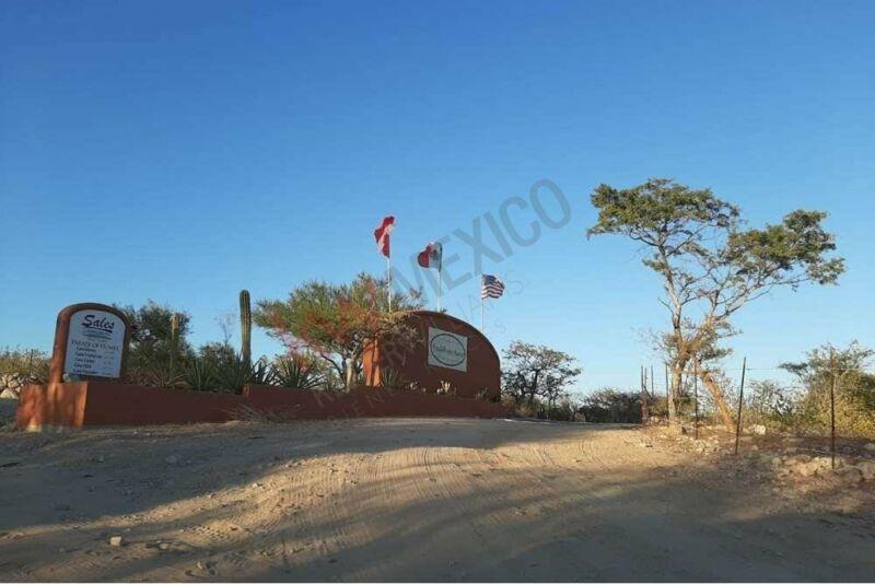 Amplio Terreno con vista panorámica al mar de Cortes en East Cape, con amenidades y acc...