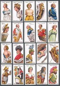 1912 John Player & Sons Ships Figure-Heads Tobacco Cards Complete Set of 25