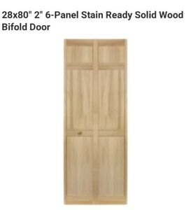 Image Is Loading 28x80 034 2 6 Panel Stain Ready