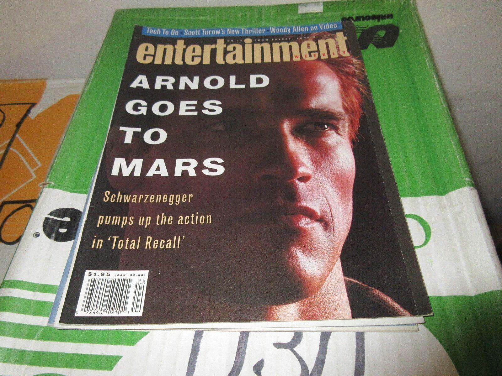 Arnold Schwarzenegger Magazine Collection ,Rare ,Vintag