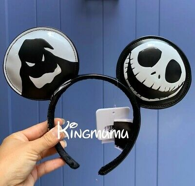 Disney Parks The Nightmare Before Christmas  Jack Skellington Zero Ear Headband