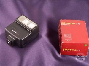 7282 - Dixon 177 Flash Gun inc Original Box