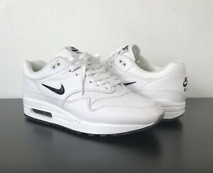 nike air max 1 jewel white black