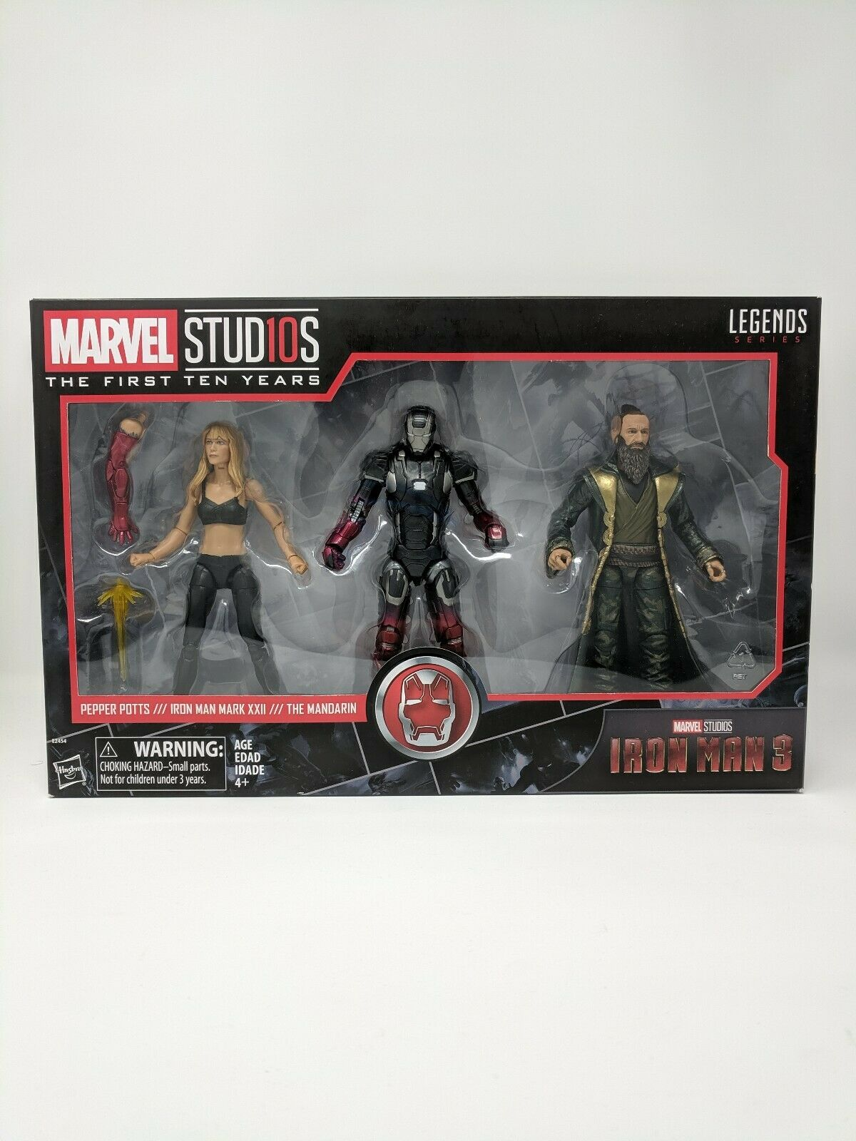 Marvel Legends First Ten Years  Iron Man 3 Pepper Pots  Iron Man  The Mandarin  prix de gros
