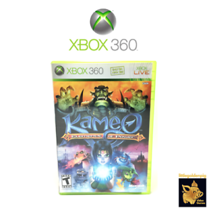 Kameo-Elements-of-Power-2009-Game-Xbox-360-Case-Manual-Disc-Tested-Works