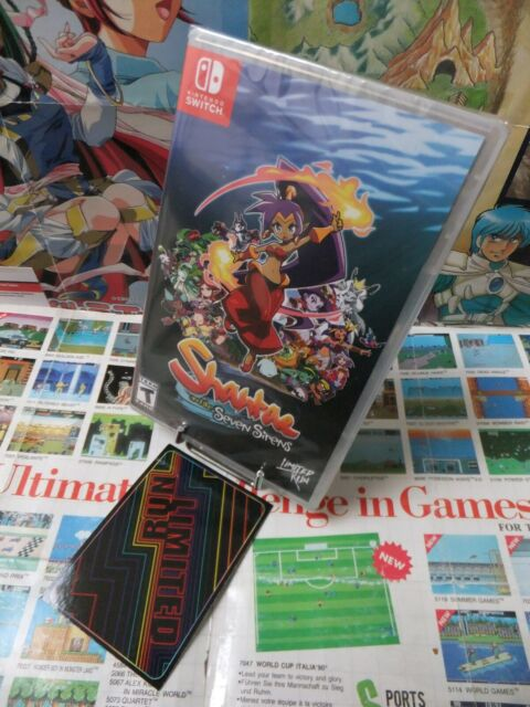 Nintendo Switch:Shantae And The Seven Sirens [TOP PLATE-FORME] US