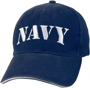 15ba0a8b7975c Image is loading Navy-Blue-Low-Profile-NAVY-Baseball-Cap-Hat