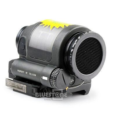 1 X 38 Solar Power Reflex Red Dot Sight Scope W/20mm Rail 1.75MOA  New-Style