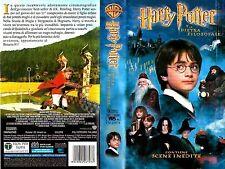 HARRY POTTER E LA PIETRA FILOSOFALE (VHS 152 min) pal FILM FANTASTICO **NUOVA!**