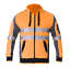 Hi-Vis-Jacket-Hoodie-Jumper-3M-Reflective-Fleece-Zip-AS-NZS-1906-4-4602-1-2011 thumbnail 7