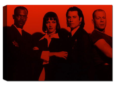Quadro moderno cm 120x70 Quadri Moderni Stampa su tela Cinema Film Pulp Fiction
