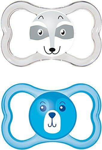 MAM Air SooTher Suitable 6 Months with Sterilisable Travel Case Design May Vary
