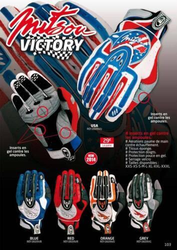 GANTS de motocross pour enfants Moto-cross BMX MX Tout-Terrain Vélo TAILLE XS