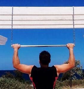 Barra Sbarra Per Trazioni - Pull Up Bar - Dorsali Schiena - Fitness Allenamento