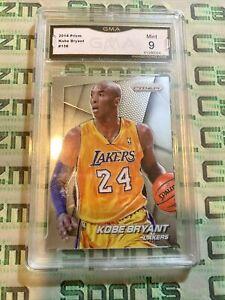 2014-15 Panini Prizm Kobe Bryant LA Lakers Graded Gma Mint 9 Psa Bgs Sgc Invest