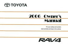 2006 Toyota Rav4 Owners Manual User Guide Reference Operator Book Fuses Fluids