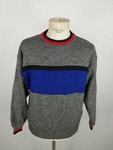 FILA-MAGLIONE-VINTAGE-100-LANA-Cardigan-Pullover-MADE-IN-ITALY-Tg-52-Uomo