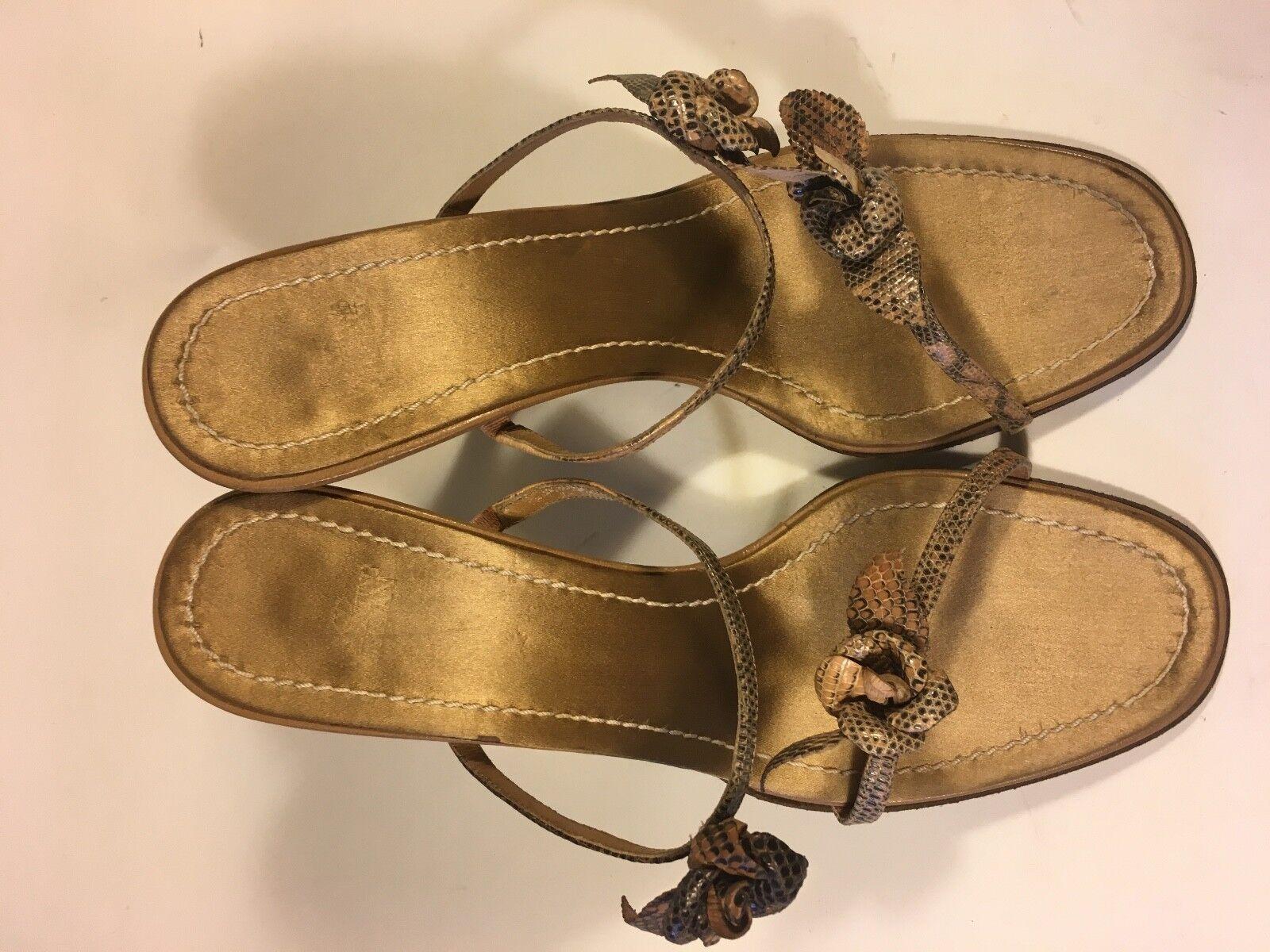 Valentino, SALE slingback high heel, snake snake snake skin, silk inner, leather sole 20 b957d4