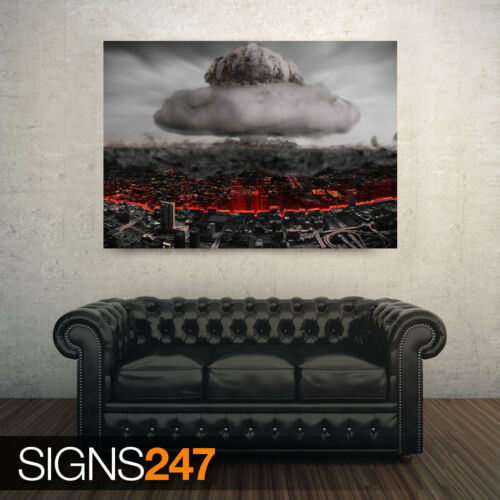 Photo Picture Poster Print Art A0 to A4 DESTRUIO NUCLEAR ARMY POSTER AC046