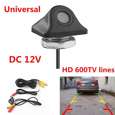 170° Waterproof HD 600TVL Auto Car Rear View Backup Reverse Camera Night Vision