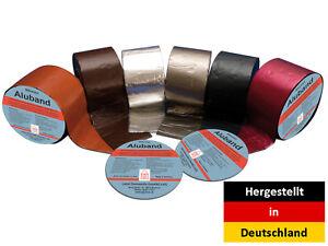 Bitumenband-Aluband-Reparaturband-Dichtband-10-m-1-5-mm-Verschiedene-Farben