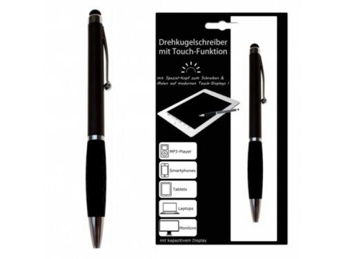 2-in-1 Touch Pen Stylus mit Dreh-Kugelschreiber mit Touch-Funktion für Handys