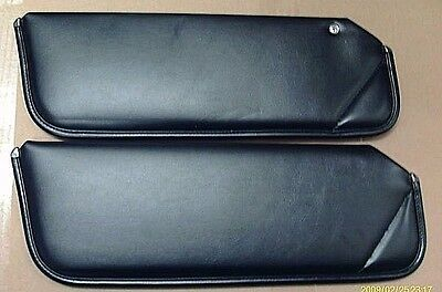 1977 - 1981 FIREBIRD TRANS AM CAMARO - NEW SUN VISOR SET - 2 PIECE BLACK