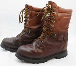 c1c3c4491da Details about Field & Stream Thinsulate Insulated Mens Sz 10.5 GTX Leather  Hunting Work Boots