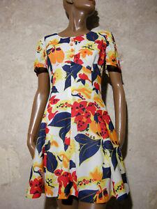 Dress Robe40 1970 Vtg Annᄄᆭes 70er 1970 Chic True Pop Dress Vintage Kleid Robe 2H9EDI