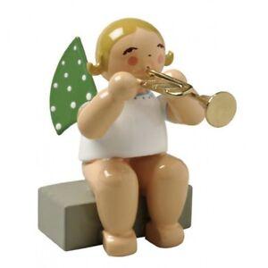 Grünhainichen Engel wendt kühn trompete sitzt engelmusikant engel grünhainichen
