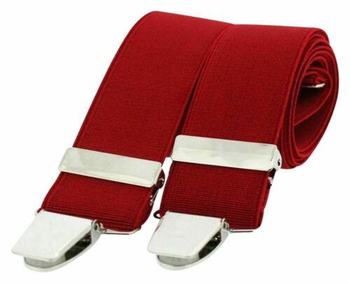 Red David Van Hagen Mens Classic Brace